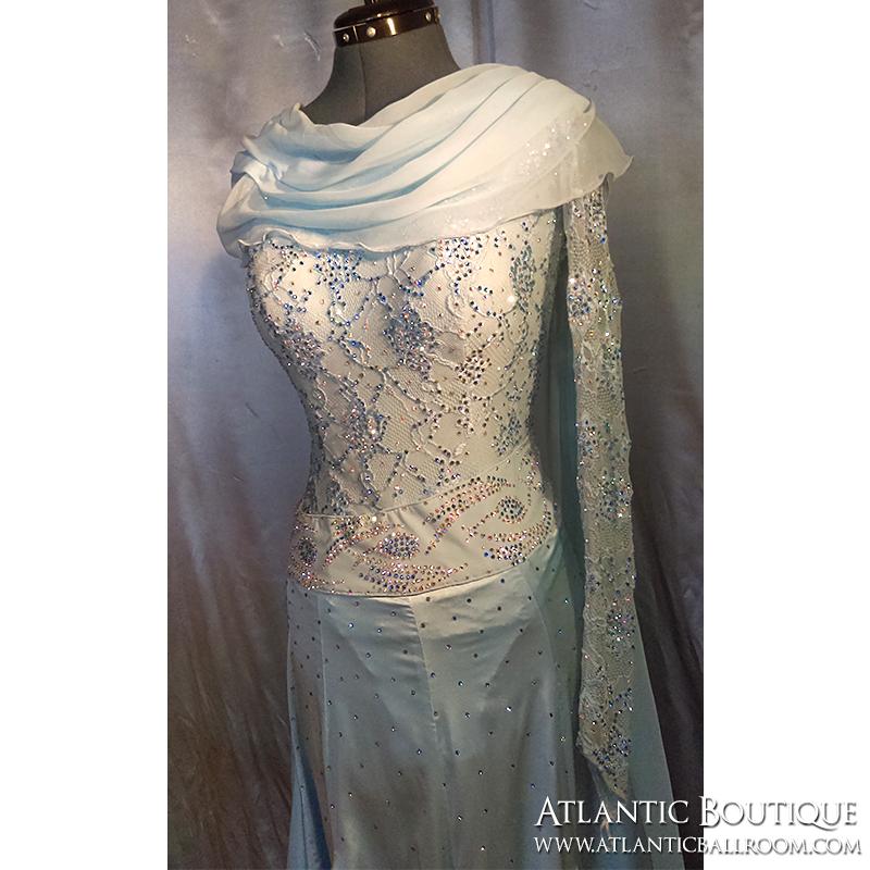 Sky Blue Standard Dress Size 4-6