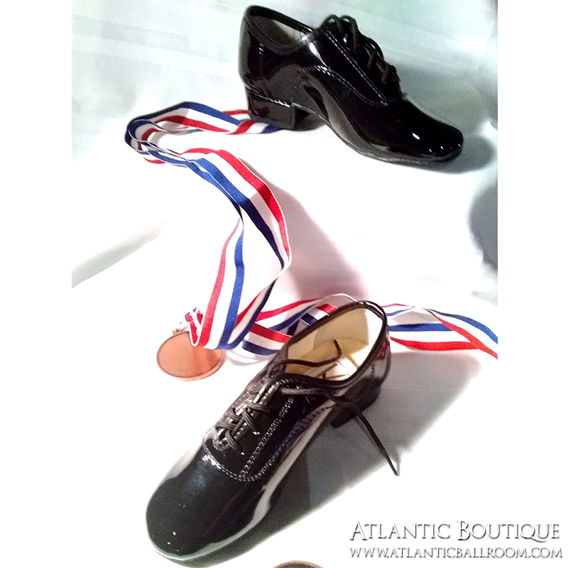 Mens Standard Shoe Patent Leather Size 10