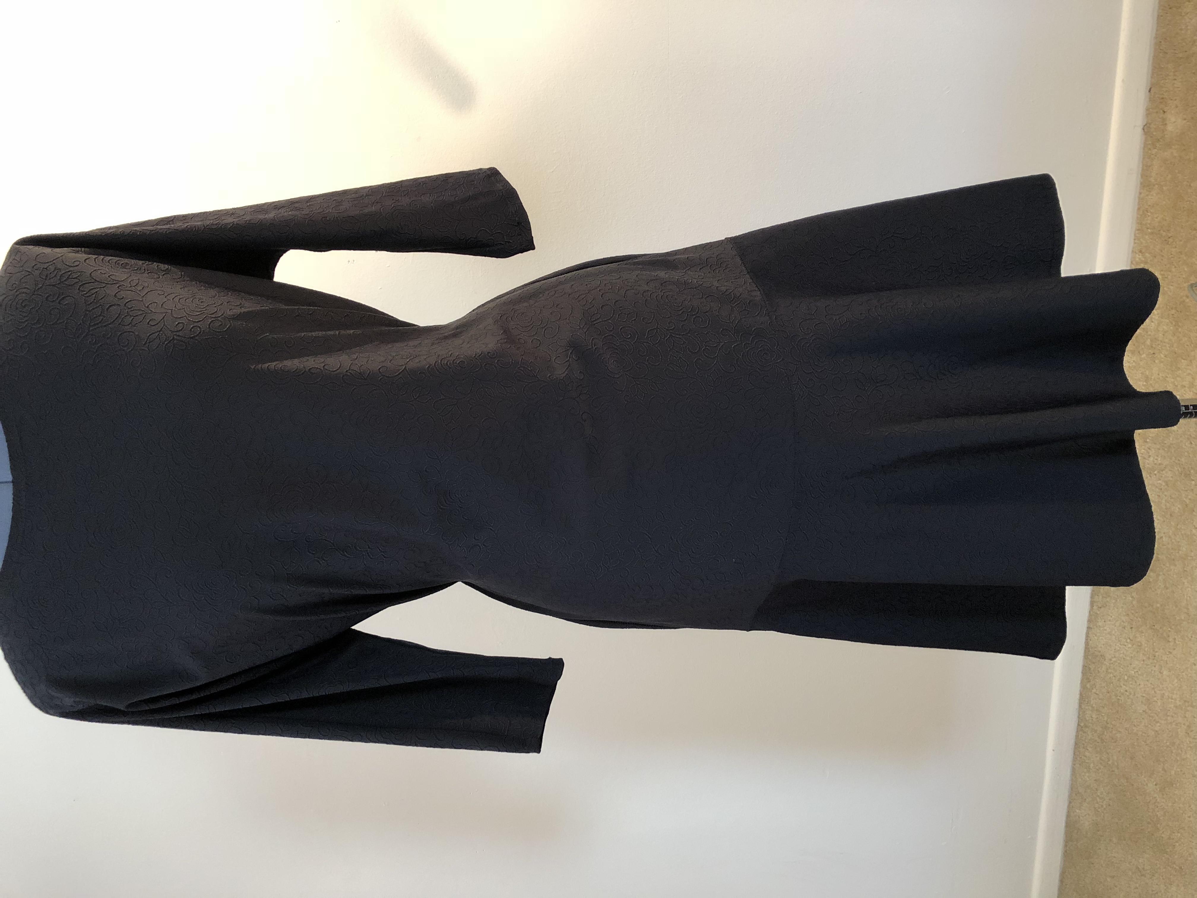 Black practice dress