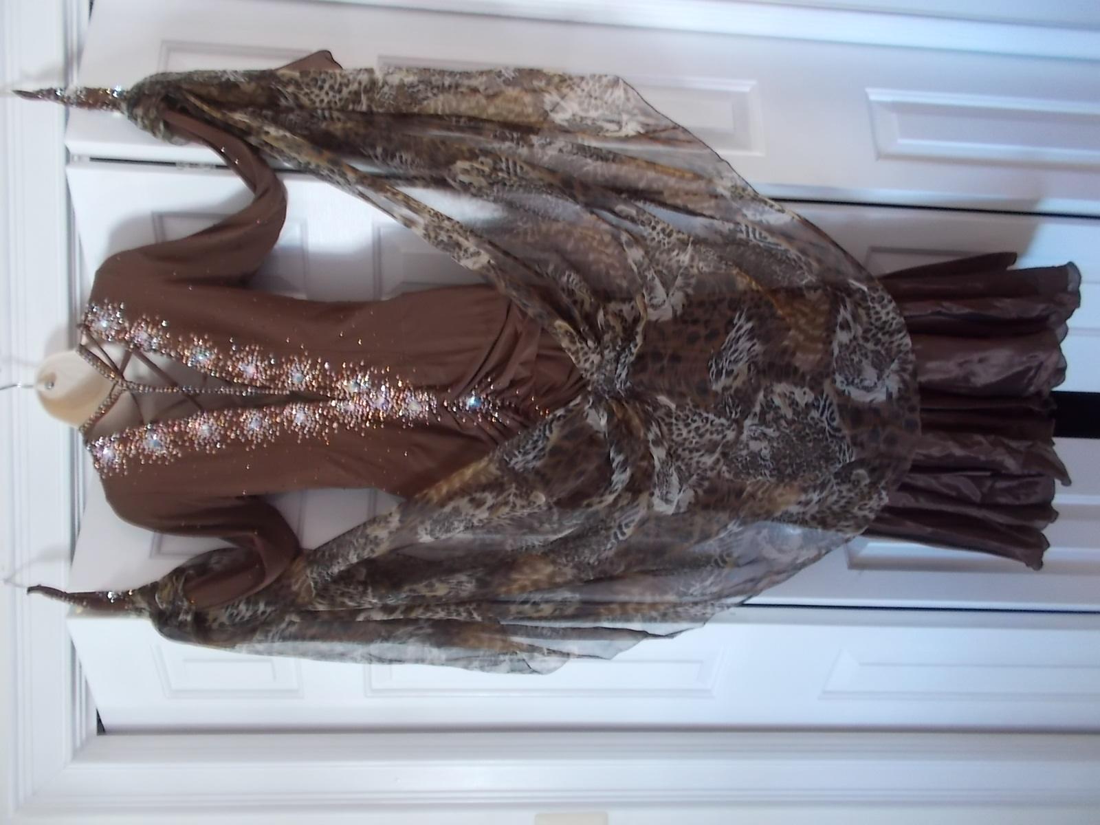 Brown Standart Smooth Dress