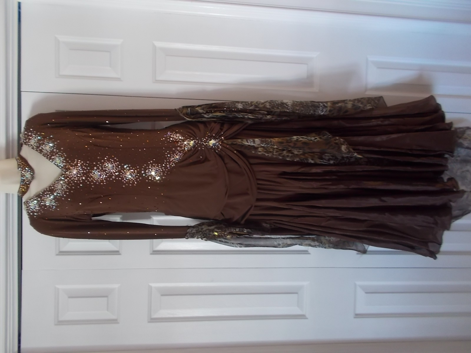 Brown Standart Smooth Dress