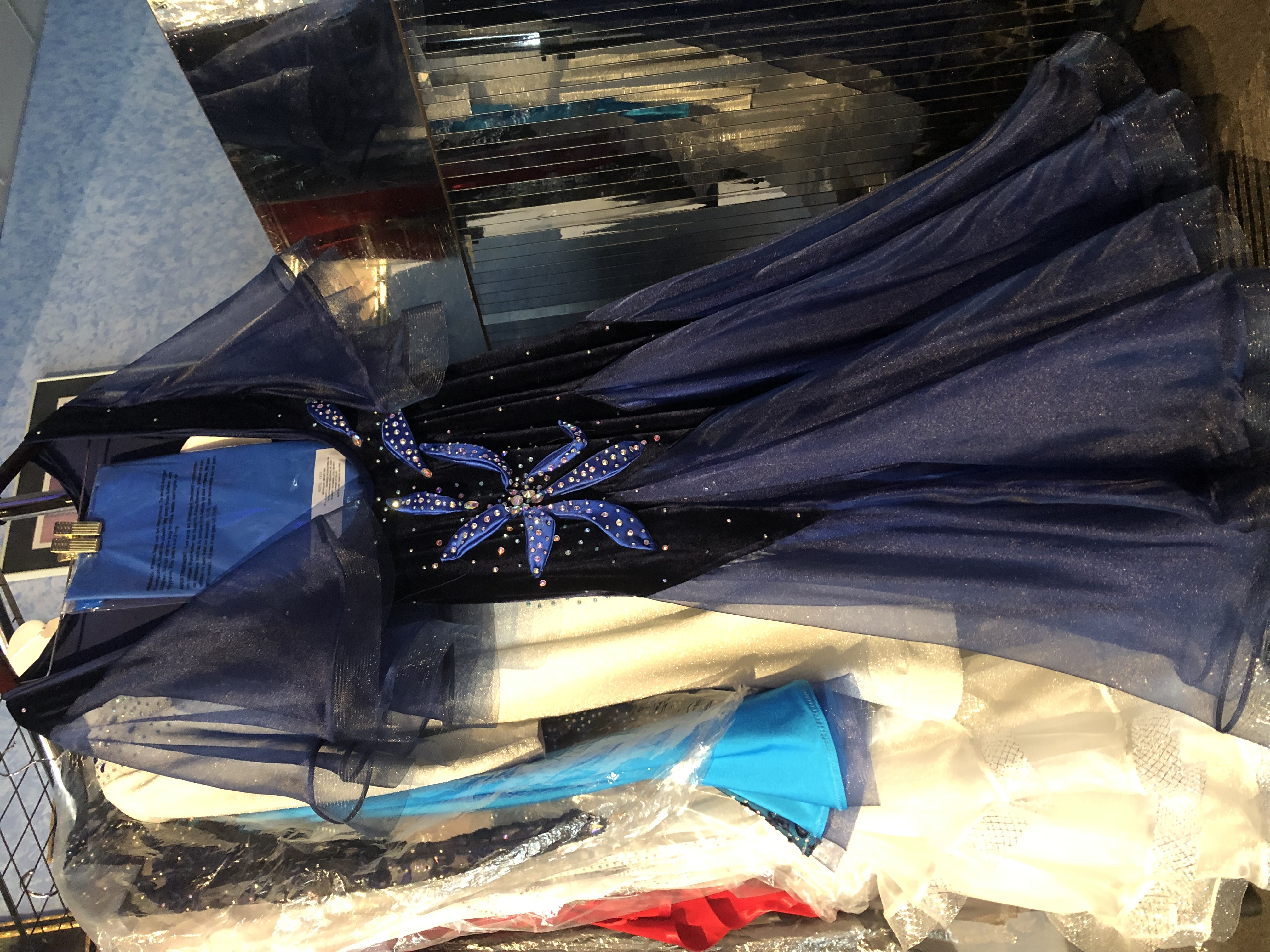 Dark Blue Standard Dress Size 8-10