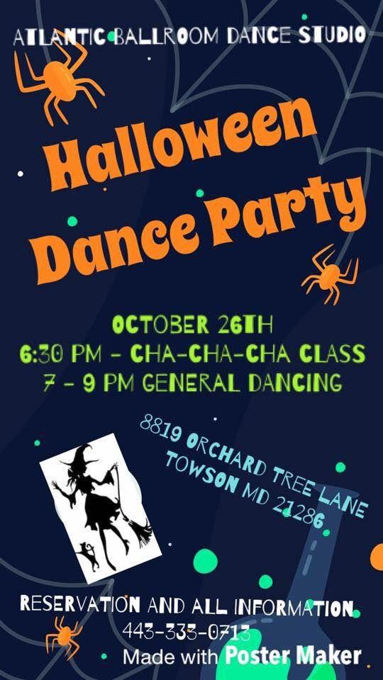 Halloween Dance Party @ Atlantic Ballroom