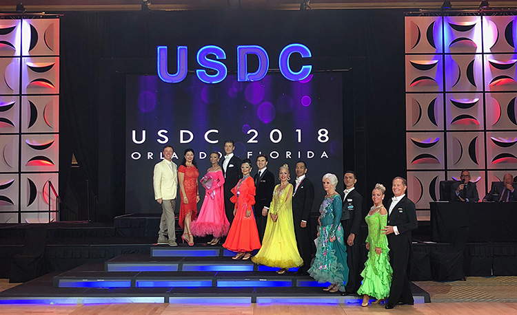 US National Pro-Am 10 dance Champions